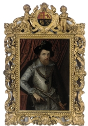 Portrait of King James VI of S