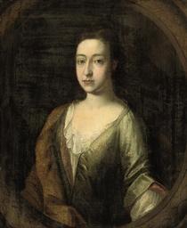 Portrait of Margaret Frank, La