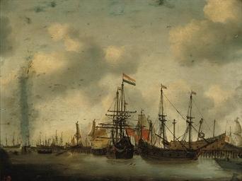 Dutch men-o'-war and other shi