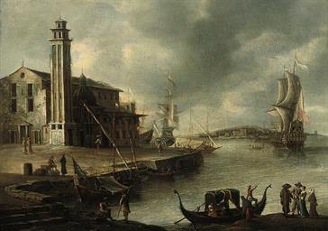 A Mediterranean coastal landsc