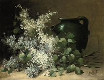 Wild flowers and a green jug