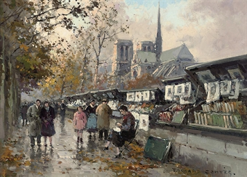Booksellers on the Seine, Notr