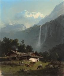 The Staubach Falls, Lauterbrun