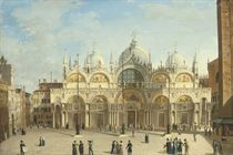 Travellers on the Grand Tour before the Basilica di San Marco, Venice