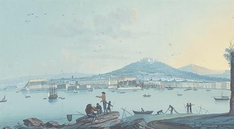 Veduta della città di Napoli p