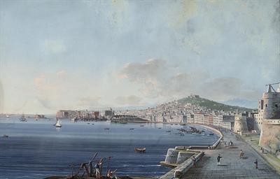 Via di Napoli dal Carmine