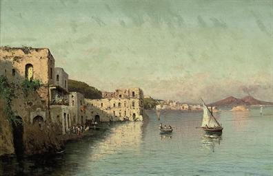 Palazzo Donna Anna, Vesuvius b