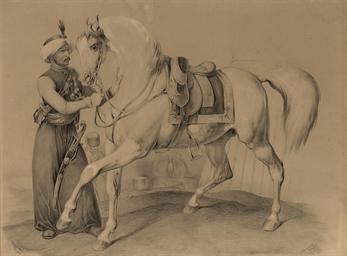 The prize stallion