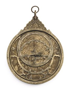 AN INDIAN ASTROLABE INSCRIBED IN SANSKRIT | LATE 19TH CENTURY ...