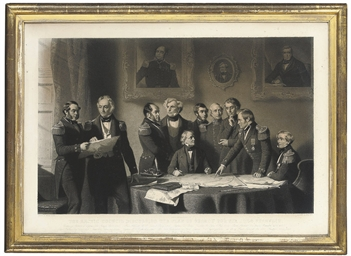 The Arctic Council discussing