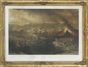 The Destruction of Jerusalem b