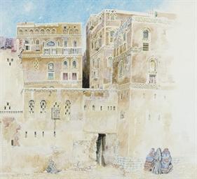 The Old City, Sanaa, Yemen