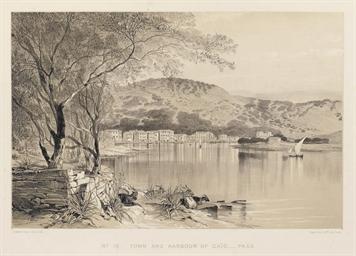 LEAR, Edward (1812-1888).  Vie