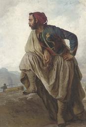 French Tirailleur Algérien sta