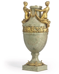 A FRENCH ORMOLU-MOUNTED PALE G