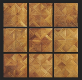 A NORTH EUROPEAN OAK PARQUETRY