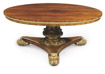 A WILLIAM IV ROSEWOOD AND PARC