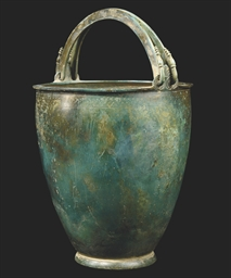 A GREEK BRONZE SITULA