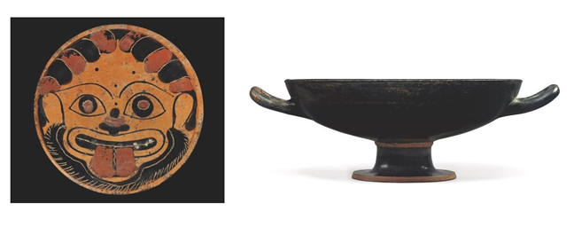 AN ATTIC BLACK-FIGURE KYLIX