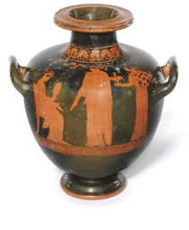 AN ATTIC RED-FIGURE HYDRIA