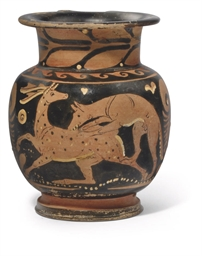 AN APULIAN RED-FIGURE MUG