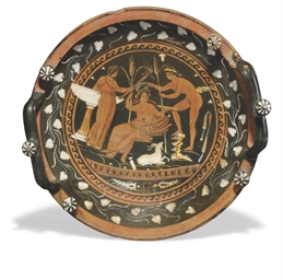 AN APULIAN RED-FIGURE KNOP-HAN
