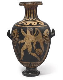 A CAMPANIAN RED-FIGURE HYDRIA
