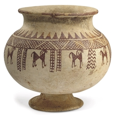 A WESTERN ASIATIC POTTERY OLLA