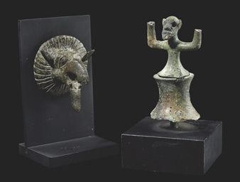 AN ETRUSCAN BRONZE GRIFFIN PRO