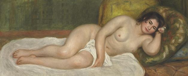 Femme nue couchée, Gabrielle