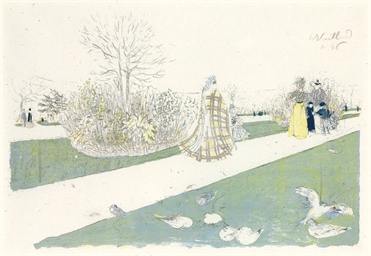 Le Jardin des Tuileries (Roger