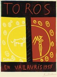 Toros en Vallauris 1955 (Bloch