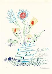 Fleurs (for U.C.L.A.) (Mourlot