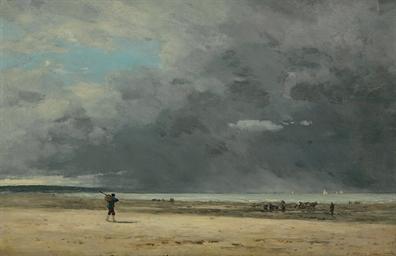 Deauville, marée basse