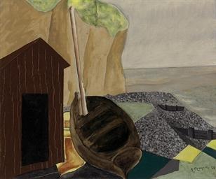 Cabine et bateau