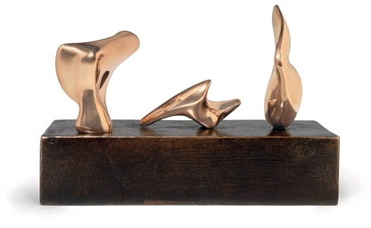 Three Piece Reclining Figure: