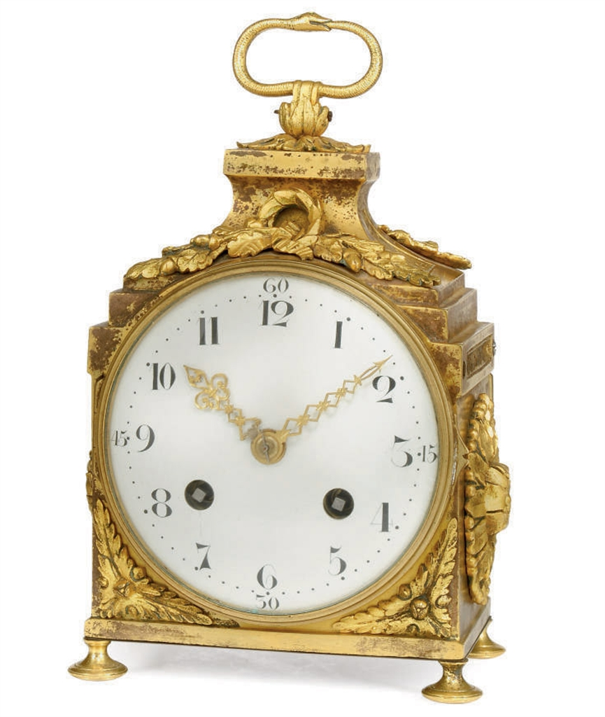 a french ormolu striking pendule d 39 officier case late 18th early 19th century movement and. Black Bedroom Furniture Sets. Home Design Ideas