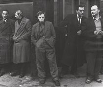 Outside Pentonville Prison, London, 1958