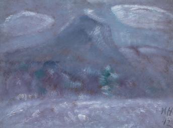 Mount Katahdin, Snow Storm
