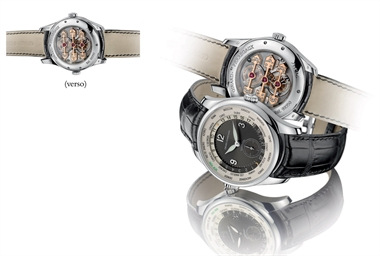 GIRARD-PERREGAUX. A FINE AND U