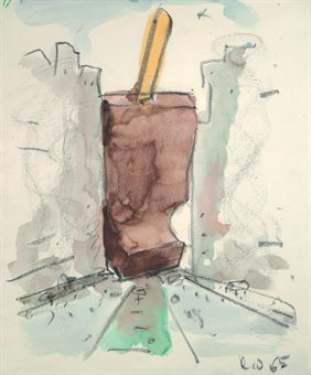 Proposed Colossal Monument for Park Avenue, N.Y.C.--Good Humor Bar