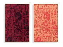 Richard Pettibone Pair Rouen Cathedrals Sold Christie's