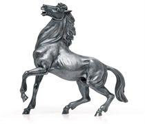 AN ITALIAN SILVER MODEL OF A HORSE