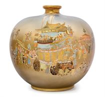A Fine Satsuma Vase