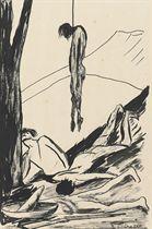 The Hanged Man (El ahorcado) from the series The Underdogs (Los de abajo)
