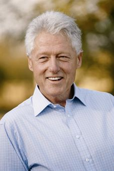 A DAY OF GOLF WITH PRESIDENT CLINTON