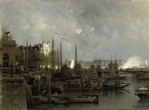 Oude haven with the Koningsbrug
