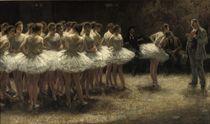 Een werkstaking: Strike of the Ballerinas