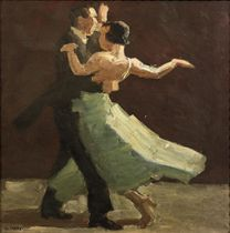 Vanuit de coulissen: A Dancing Couple