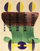 Kalender 1944 - Calendar 1944 (Dekkers/Van der Spek/De Vries G-240)